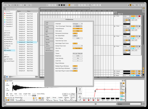 Light Sean Theme for Ableton 10 by Sean Crossan