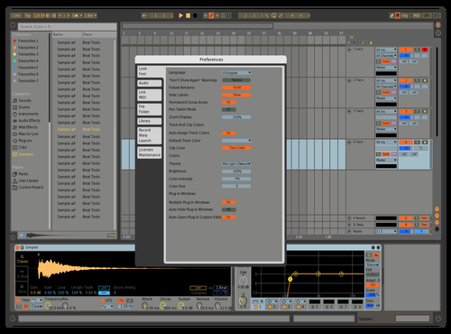 Technico 03 Theme for Ableton 10 by IDGI