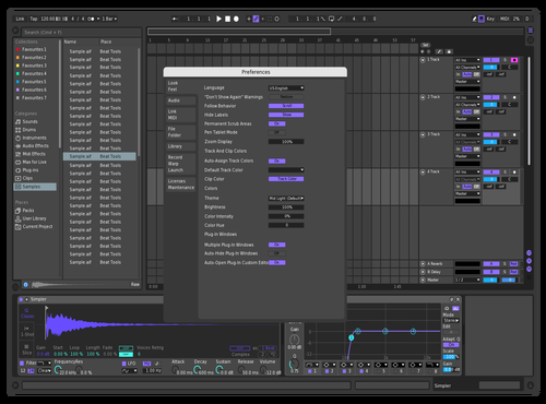 Thingh Theme for Ableton 10 by Not Reaver alt