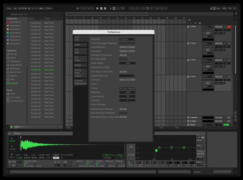Spotifyreader Theme for Ableton 10 by t