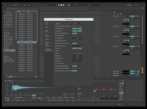 Dark Mint Theme for Ableton 10 by mint
