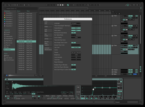 Nice Theme for Ableton 10 by ottogfx