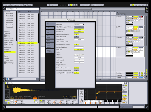 Live 8 Remake Theme for Ableton 10 by futuristico beats