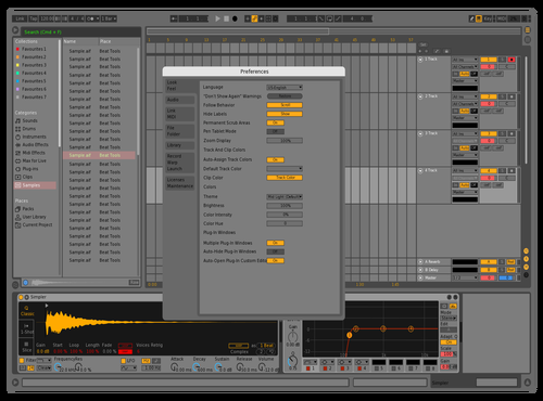 In2AUX Darker v1 Theme for Ableton 10 by In2AUX