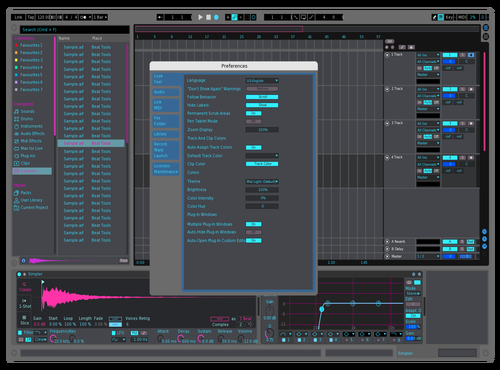 Twin Lights 1 Theme for Ableton 10 by Mauro Castillo