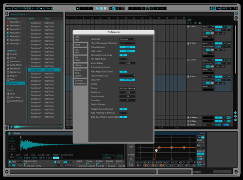 LeocelDarkHonor IIIA Theme for Ableton 10 by Leocel