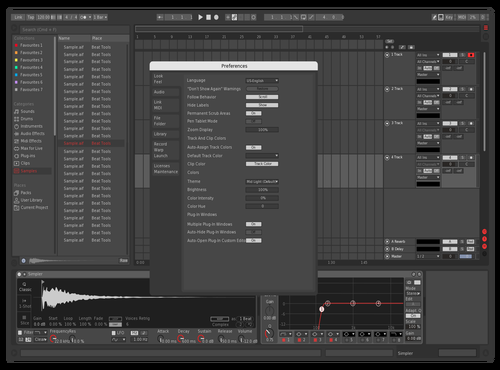 Test1 Theme for Ableton 10 by harddrivermusic
