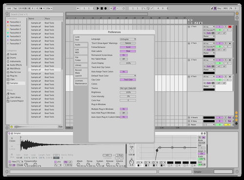 Simple pastel Theme for Ableton 10 by UU