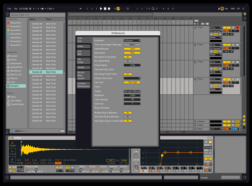 **** Theme for Ableton 10 by Reaver