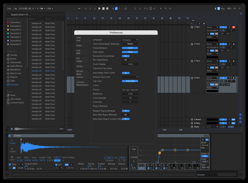 Cool Theme for Ableton 10 by apo