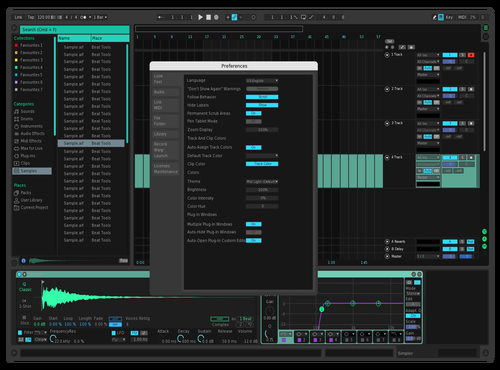 Mint Theme for Ableton 10 by Meredith