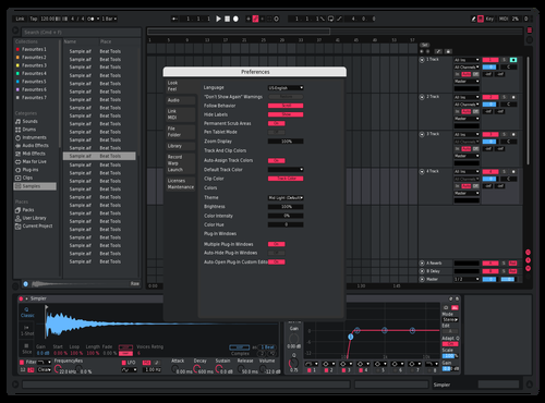 Berry the berry Theme for Ableton 10 by Reaver