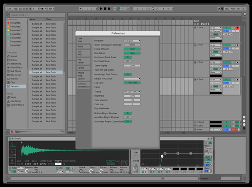Greenlight Theme for Ableton 10 by luis duran