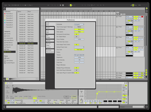 Massive X1 Theme for Ableton 10 by david