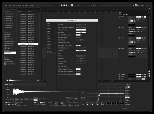 White Light Theme for Ableton 10 by ColeRodriguez