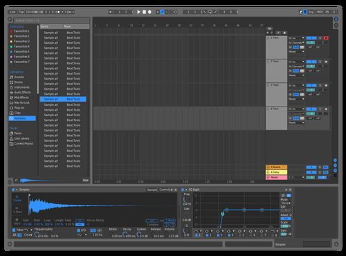 Logic Range Fix Theme for Ableton 10 by Zack Freedman