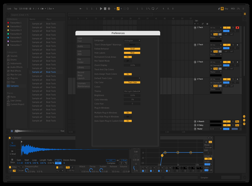 G03.10.2019 Theme for Ableton 10 by Danielkain