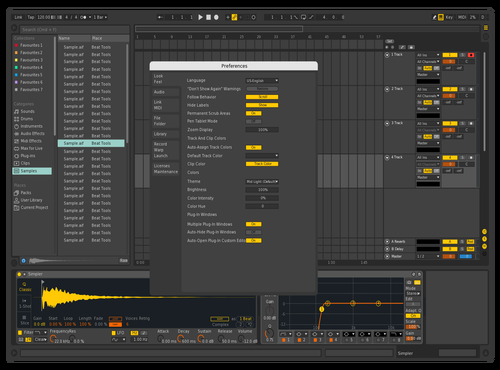 Iconic Theme for Ableton 10 by Sly