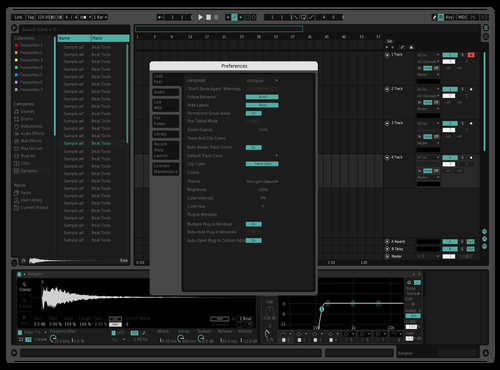 Test Theme for Ableton 10 by Ikrandas