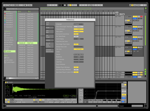 Gren2 Theme for Ableton 10 by homi