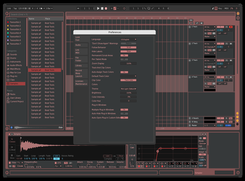Pop red Theme for Ableton 10 by fabio flores