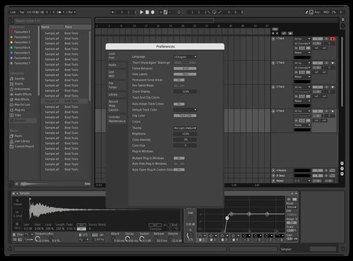 Iron Theme for Ableton 10 by noisemaker