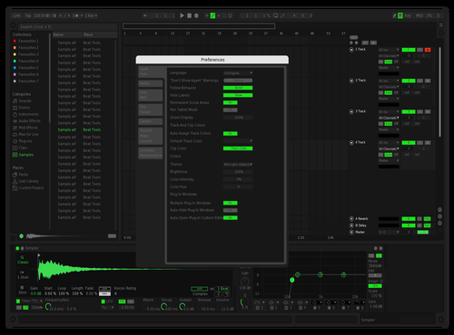 Spotify - remastered Theme for Ableton 10 by ARtiee