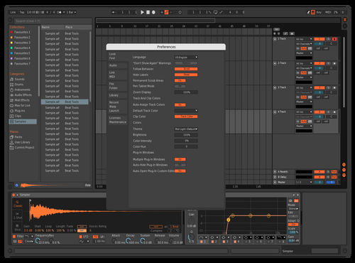 OGN1 Theme for Ableton 10 by david