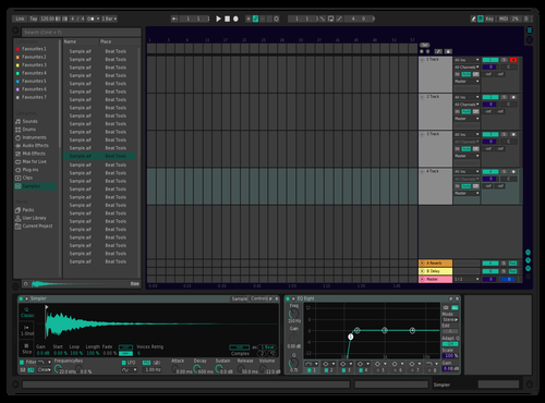 Infusion Theme for Ableton 10 by Dezz