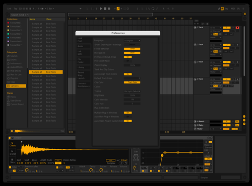 DN1 Theme for Ableton 10 by david