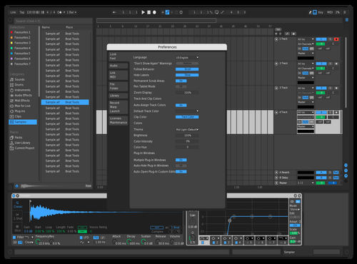 LogicProXTheme2 Theme for Ableton 10 by Peter Sildegren