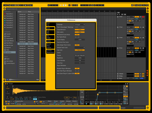 1st Theme for Ableton 10 by M. B.