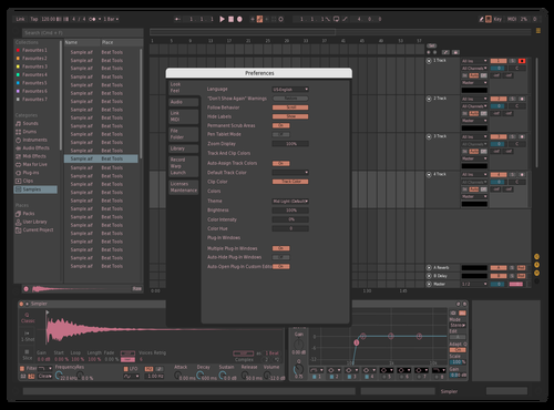 Pink Floid Theme for Ableton 10 by Louis Bonheur