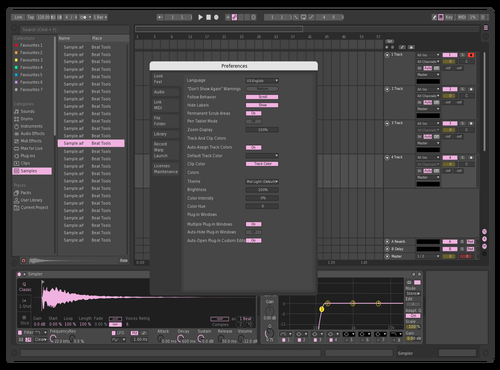 Blackpink Theme for Ableton 10 by Seventy