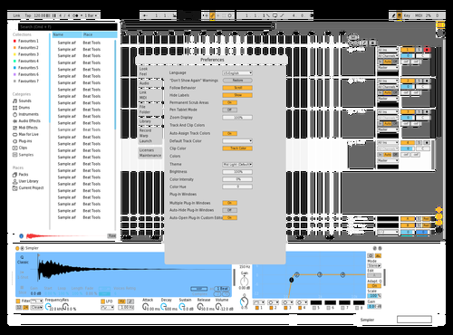 TRANSPARENT Theme for Ableton 10 by A+NAL0G