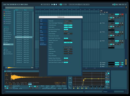 Yellow Theme for Ableton 10 by NUTRINO
