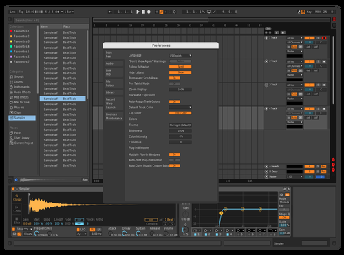 Dark4ML Theme for Ableton 10 by MLizano