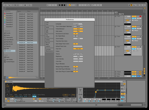 Tims better ableton Theme for Ableton 10 by Billy Boberst