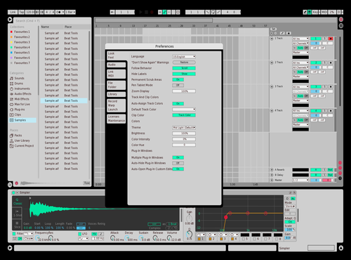 KASk 2 Theme for Ableton 10 by kradfacemusic9
