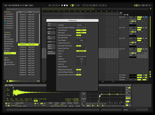 Lime Theme for Ableton 10 by Josh