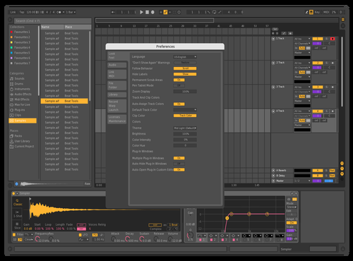 Dark Candy Theme for Ableton 10 by Gaulois