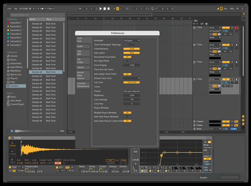Smooth 2 Theme for Ableton 10 by Dahak