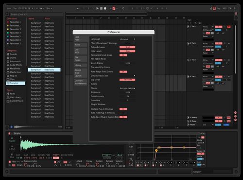 Pint Mink Theme for Ableton 10 by Manj Virdee