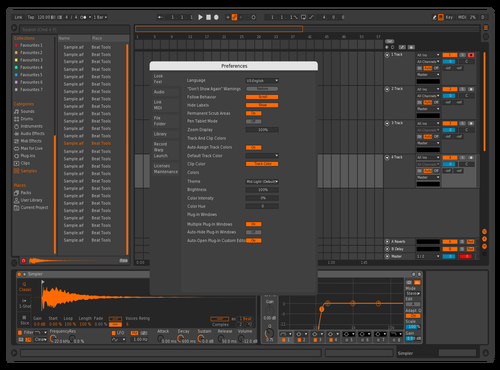 Machine v2 Theme for Ableton 10 by julius waldeck