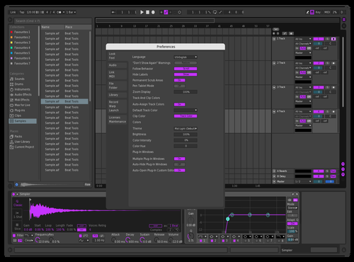 Purple Theme for Ableton 10 by jaiggle
