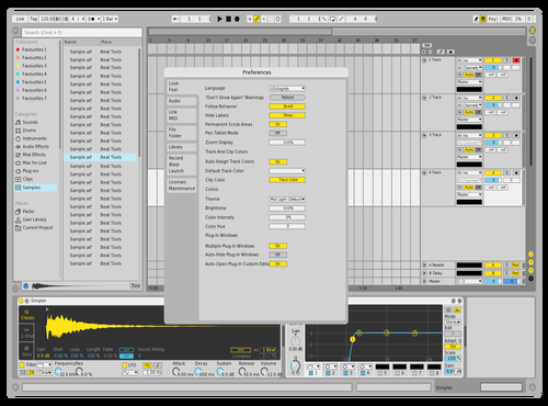 DEFLIGHTYELL Theme for Ableton 10 by david