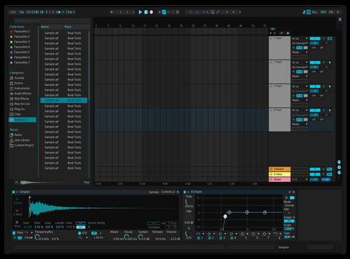 Geldmacher dark Theme for Ableton 10 by Ian Moneymaker