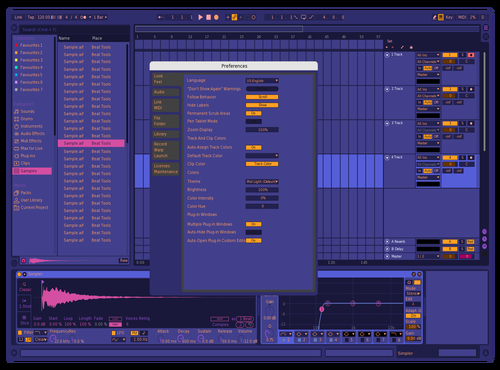 Better Theme for Ableton 10 by Patrick