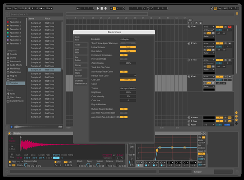 Isa Kagan Theme for Ableton 10 by Isa Kagan