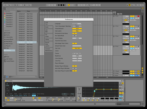 DefaultUpd1 Theme for Ableton 10 by david